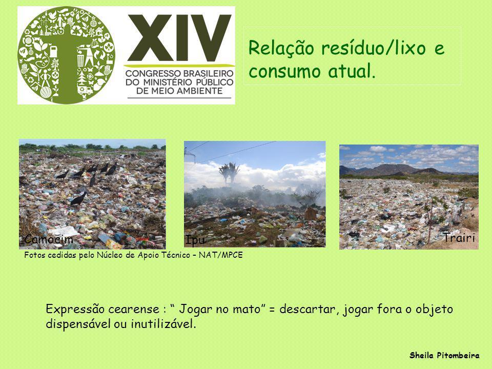 Arranjos Institucionais sobre Lixo/Resíduos Resolução CONAMA nº 06/1991, de 19 de setembro de 1991.