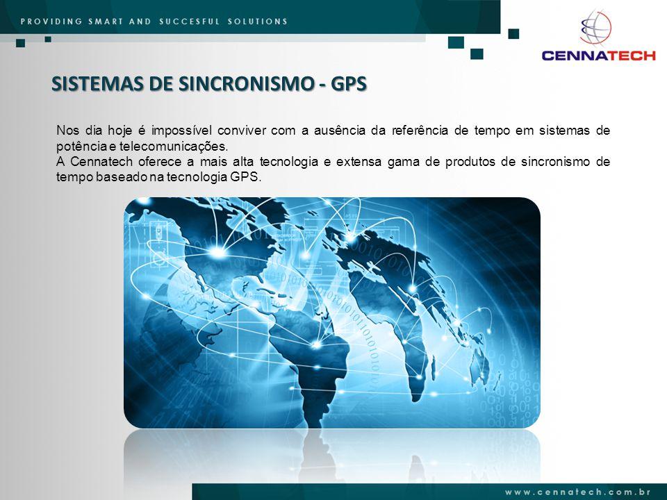 SISTEMAS DE SINCRONISMO - GPS Nos dia hoje é impossível conviver com a ausência da referência de tempo em sistemas de potência e telecomunicações. A C