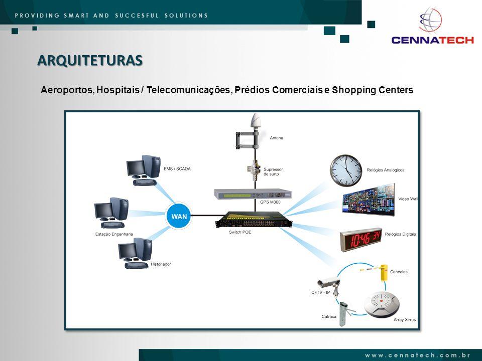 ARQUITETURAS Aeroportos, Hospitais / Telecomunicações, Prédios Comerciais e Shopping Centers