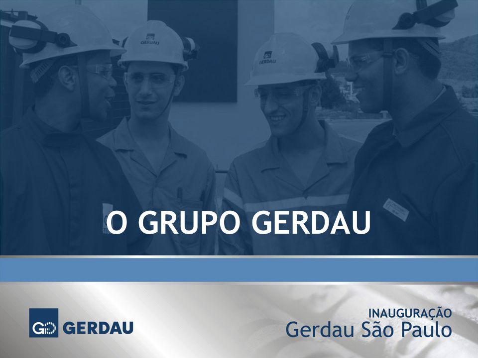 MERCADO Usina garante o abastecimento da demanda de vergalhões em São Paulo O Estado de São Paulo responde por 40% do consumo do mercado brasileiro de vergalhões