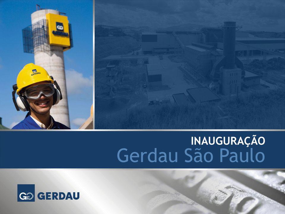 Gerdau São Paulo INAUGURAÇÃO