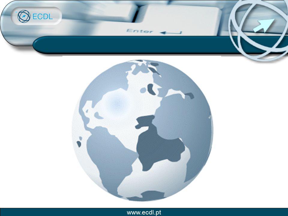 www.ecdl.pt Alguns exemplos: ICDL / ECDL Reconhecimento Internacional da ICDL / ECDL Hungria: Decreto Nº1035/1999, os colaboradores da Administração Pública têm de ter a ECDL até Dez./2002.