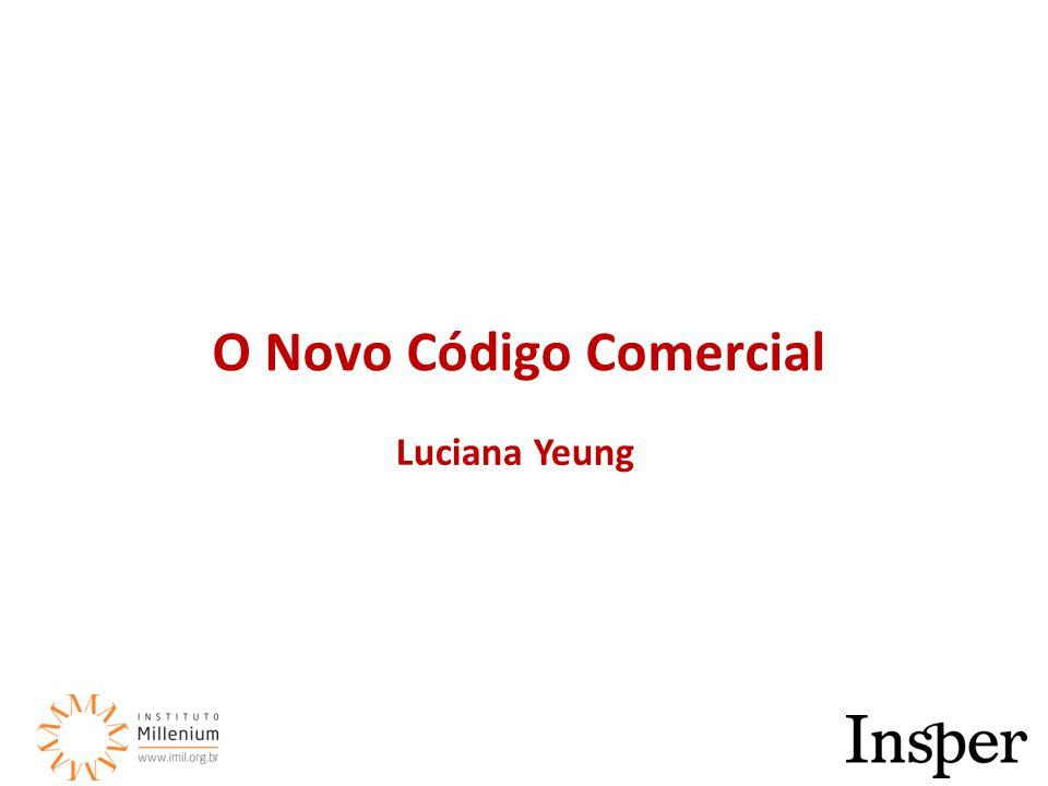Luciana Yeung O Novo Código Comercial