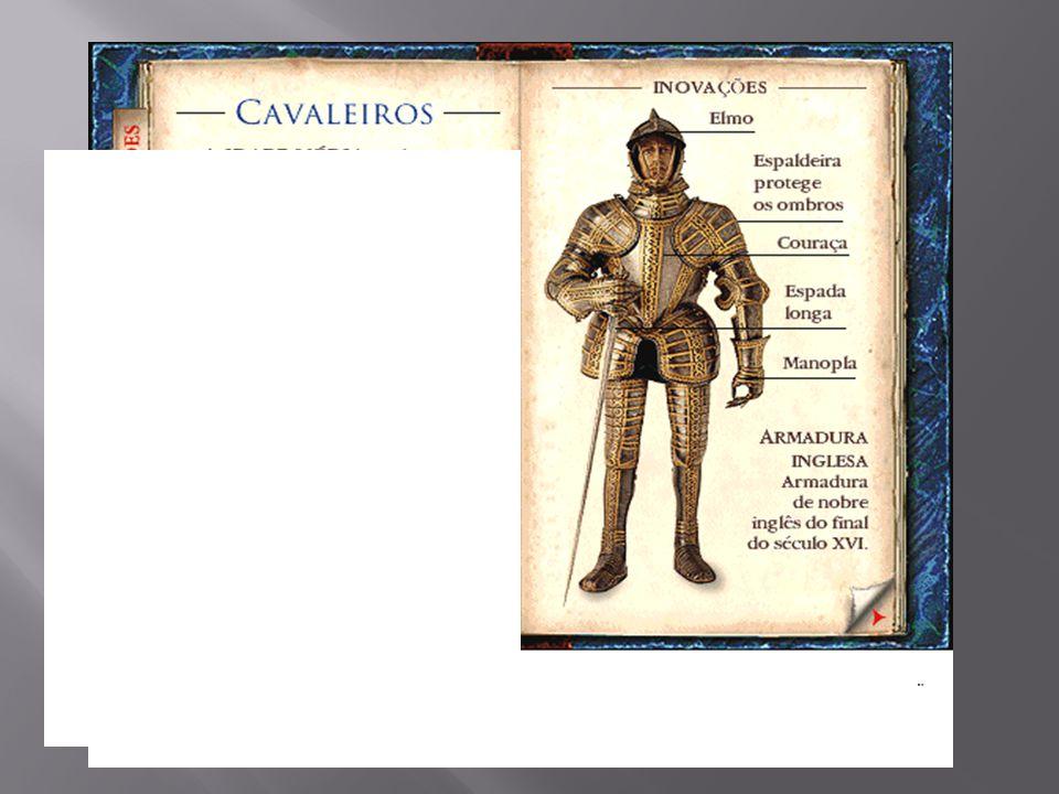PODER LOCAL Os senhores feudais tinham mais forças do que o rei. Cada feudo possuía seu próprio exército, composto principalmente pelos cavaleiros nob