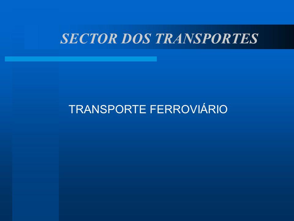 SECTOR DOS TRANSPORTES TRANSPORTE FERROVIÁRIO