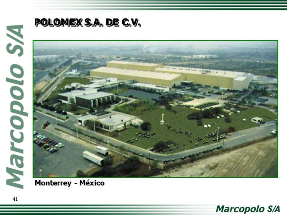 Johannesburg - África do Sul MARCOPOLO SOUTH AFRICA (PTY) LTD. 42