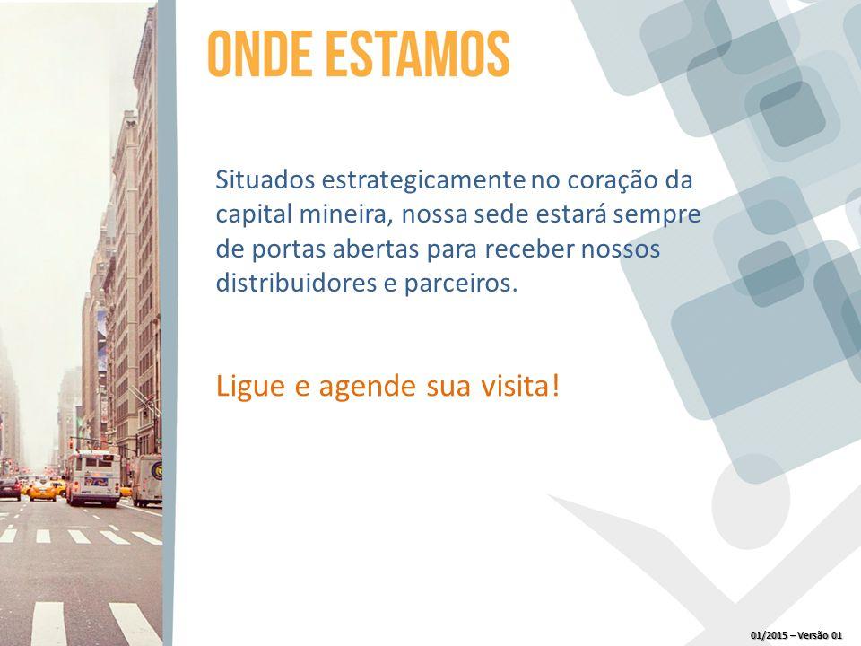 Situados estrategicamente no coração da capital mineira, nossa sede estará sempre de portas abertas para receber nossos distribuidores e parceiros.