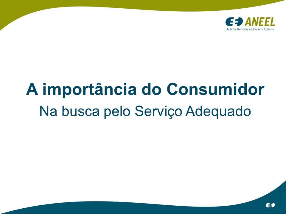 A importância do Consumidor Na busca pelo Serviço Adequado