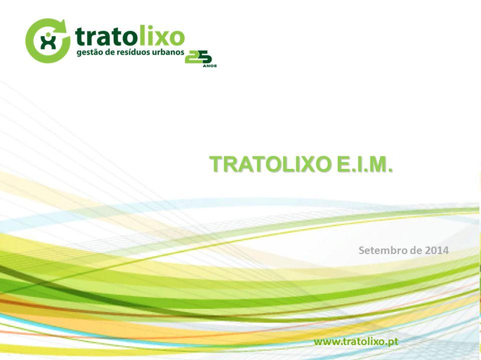 TRATOLIXO E.I.M. www.tratolixo.pt Setembro de 2014