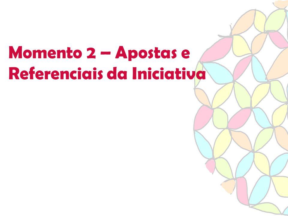 Momento 2 – Apostas e Referenciais da Iniciativa