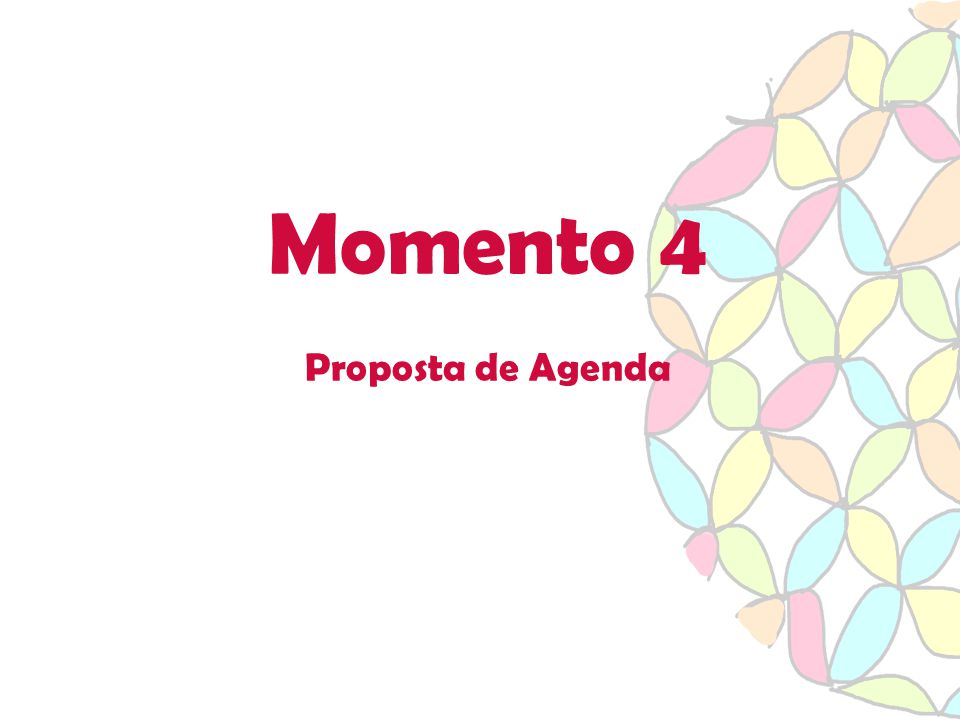 Momento 4 Proposta de Agenda