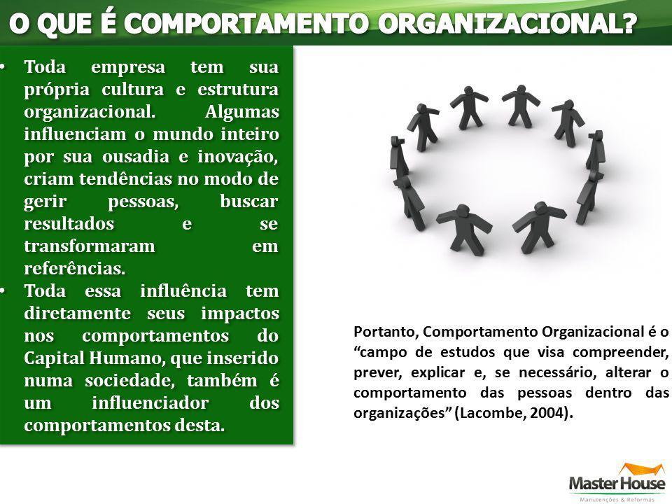 Toda empresa tem sua própria cultura e estrutura organizacional. Algumas influenciam o mundo inteiro por sua ousadia e inovação, criam tendências no m
