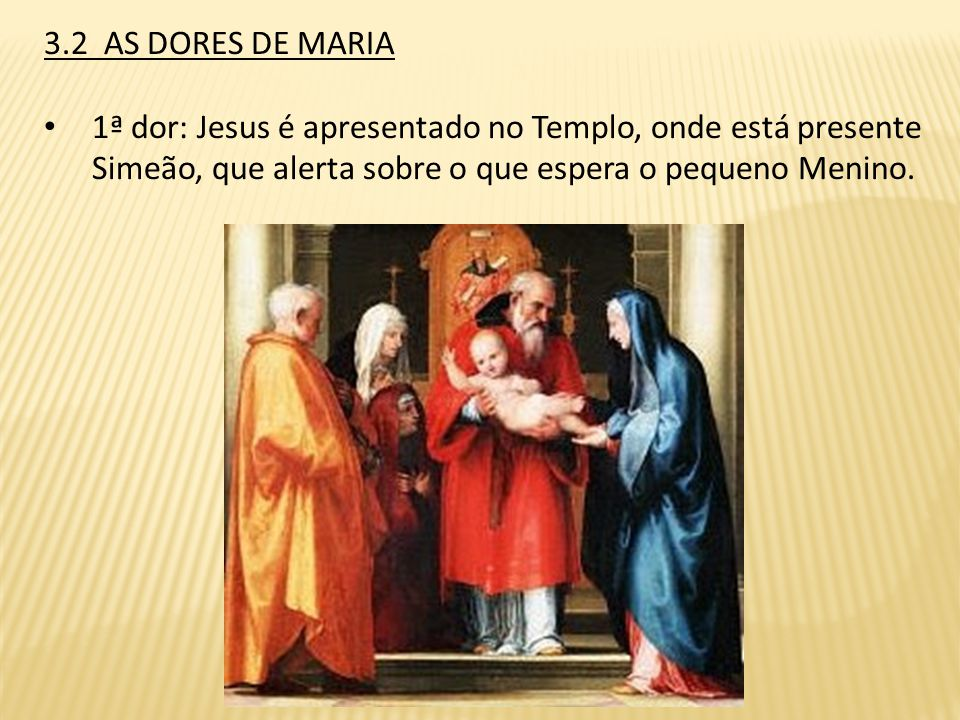 Participando da Vida de Jesus e seguindo seus passos, de dores e glórias, participamos da Vida de Maria, igualmente das suas dores e glorias. Quanto e
