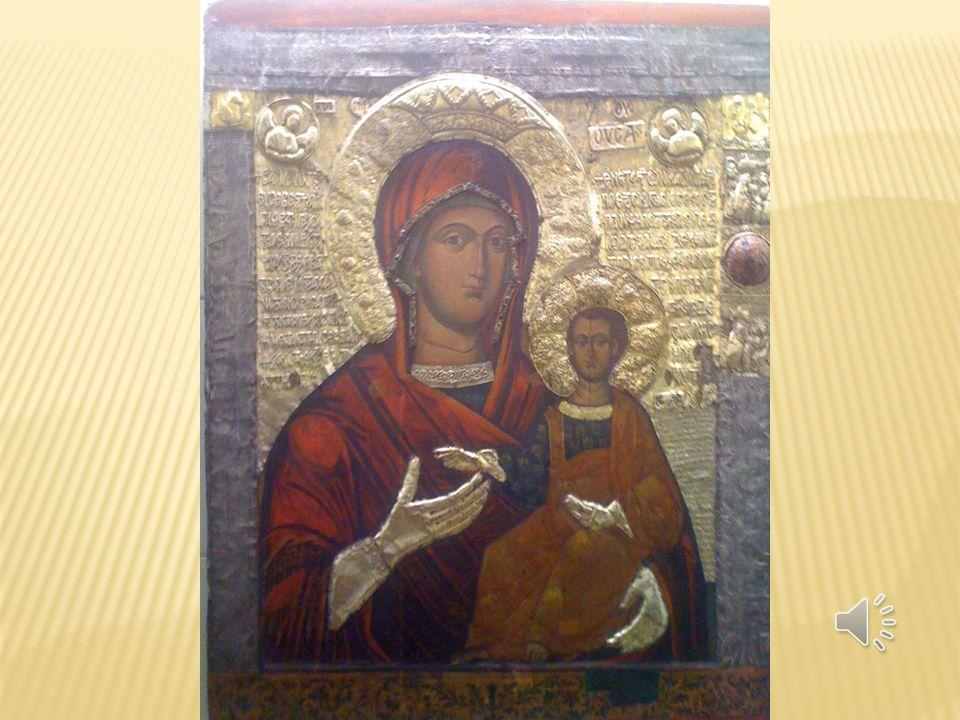 2.2 ICONES BIZANTINOS Nos países ortodoxos é a designação dada a toda a pintura religiosa executada em painel (muitas vezes sobre a madeira). São conh