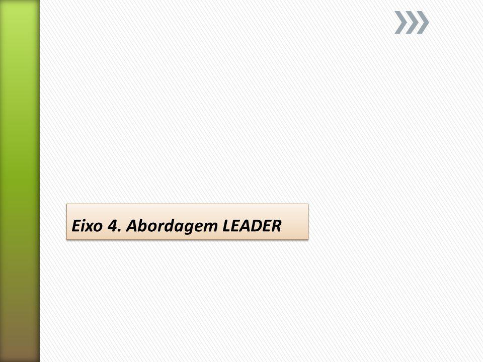 Eixo 4. Abordagem LEADER