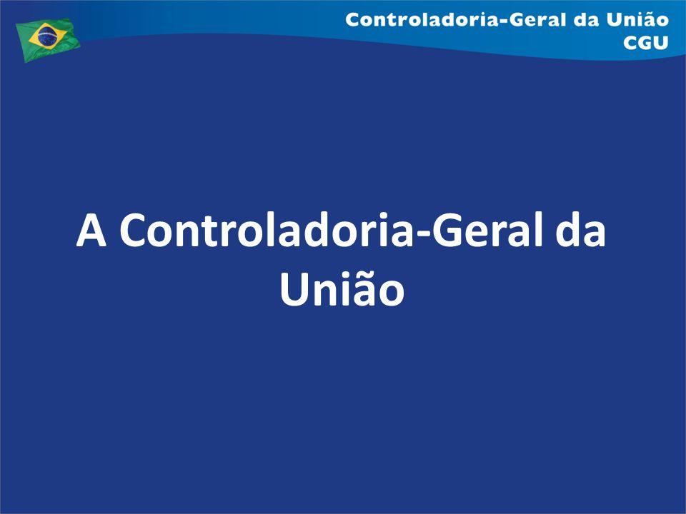 A Controladoria-Geral da União