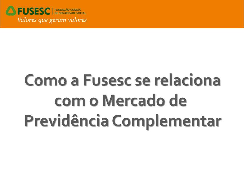 Como a Fusesc se relaciona com o Mercado de Previdência Complementar