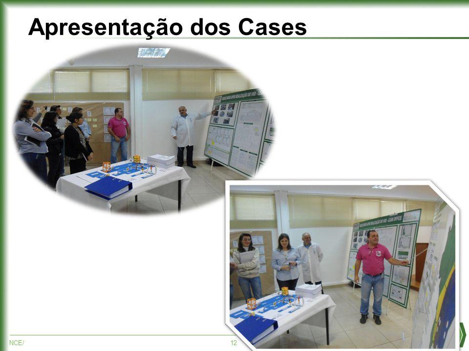 NCE/12 Apresentação dos Cases