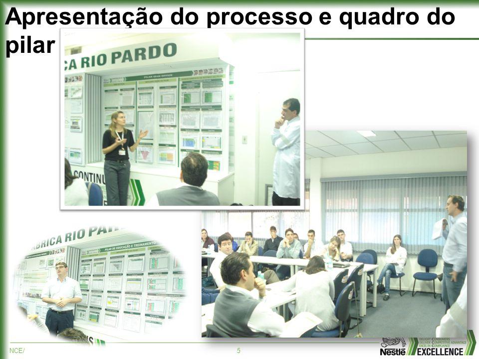 NCE/5 Apresentação do processo e quadro do pilar