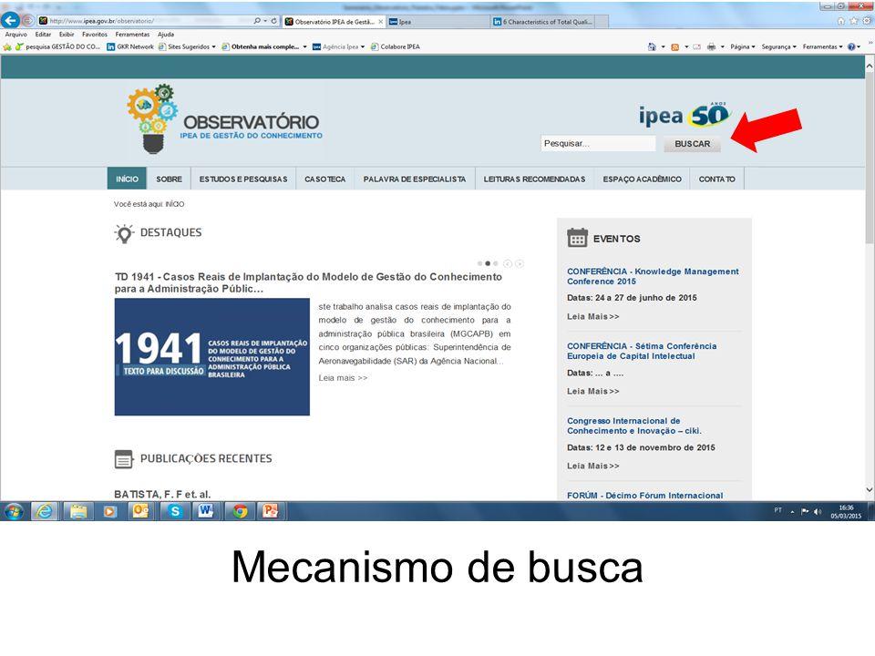 154 Mecanismo de busca