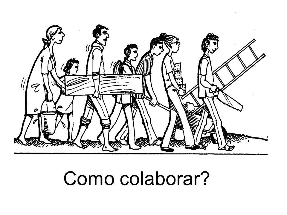 Como colaborar?