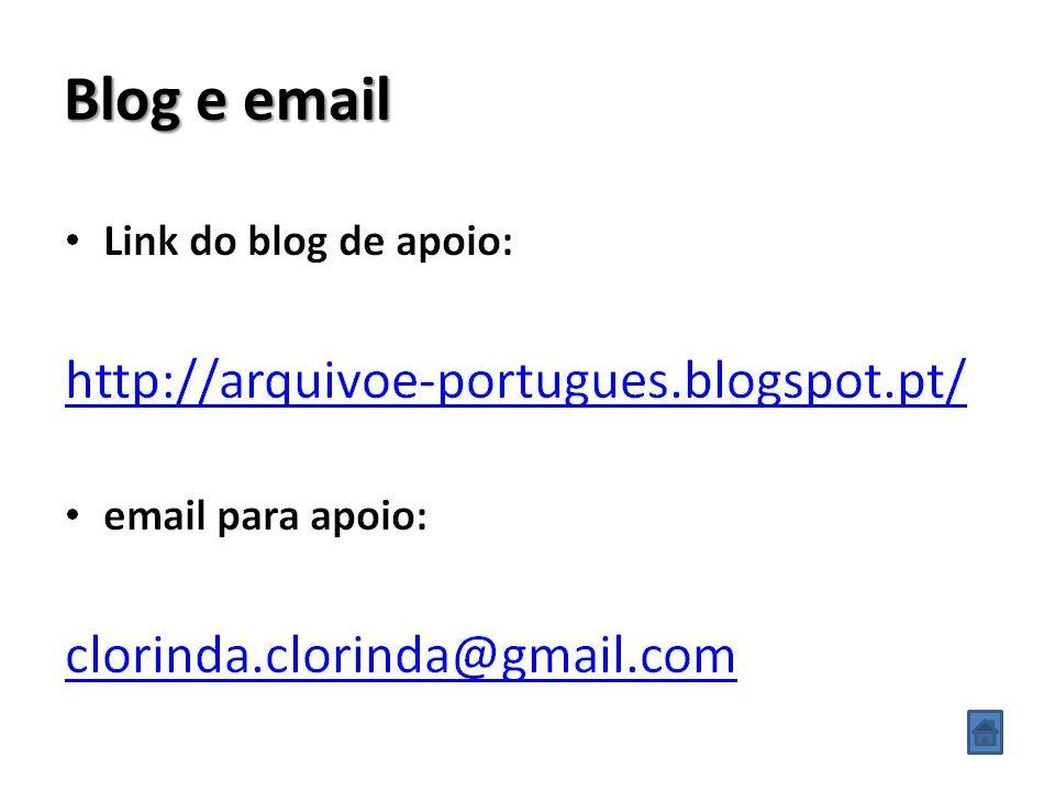 Blog e email