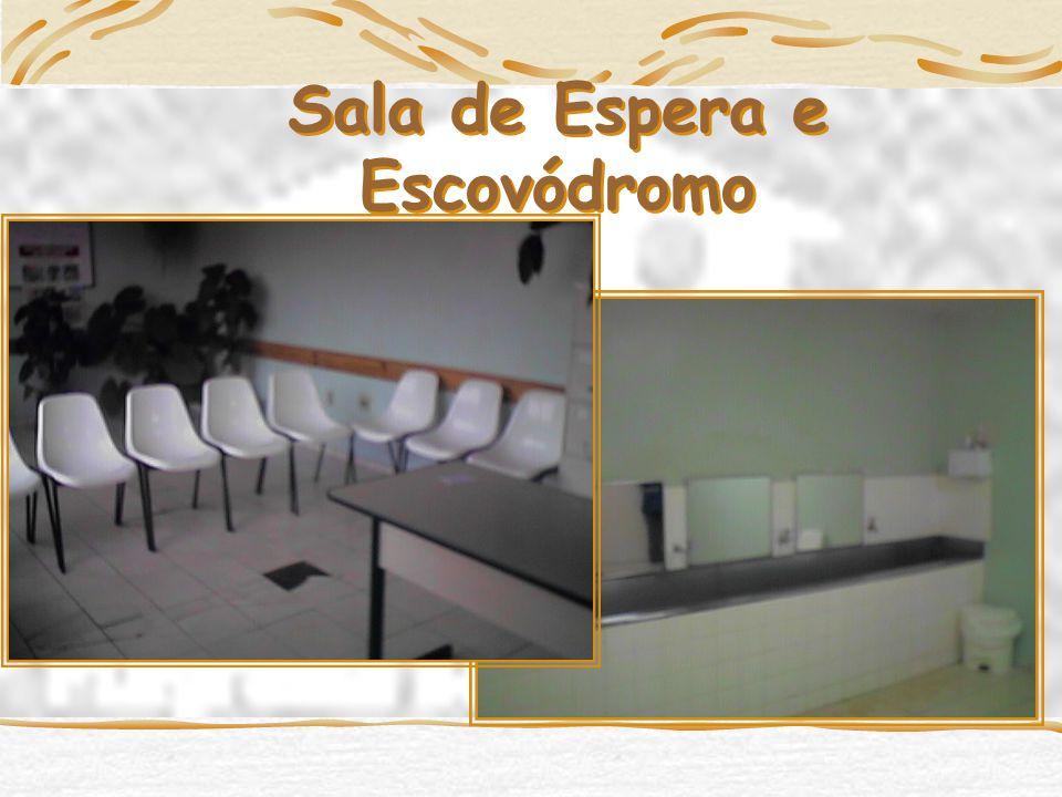 Sala de Espera e Escovódromo