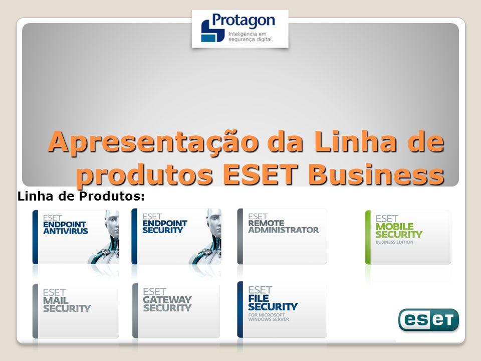 Apresentação da Linha de produtos ESET Business Linha de Produtos: