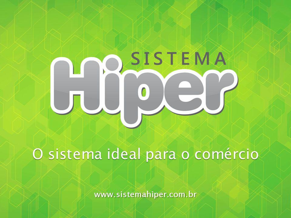www.sistemahiper.com.br O Sistema Hiper é um software que une recursos de automação comercial com ferramentas de gestão para o varejo, totalmente de acordo com as legislações fiscais.