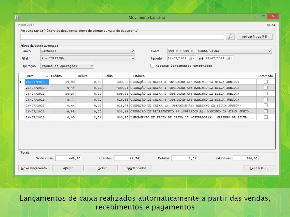 Ordem de serviço com campos descritivos personalizáveis para os diferentes segmentos de prestação de serviço