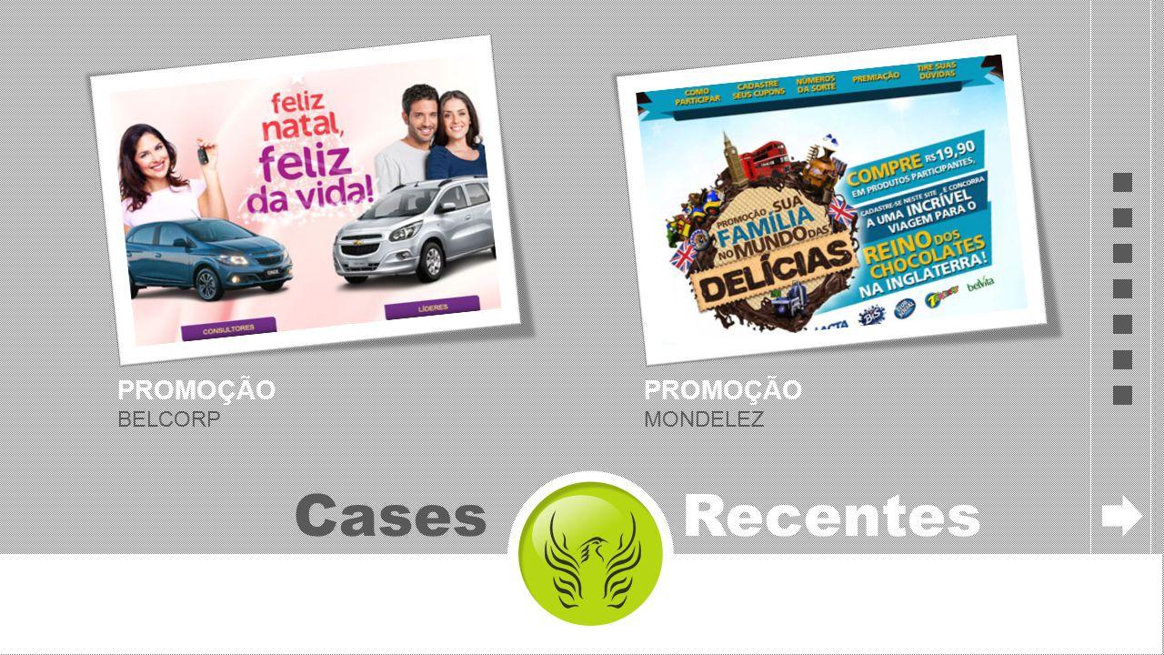 PROMOÇÃO BELCORP Cases Recentes PROMOÇÃO MONDELEZ