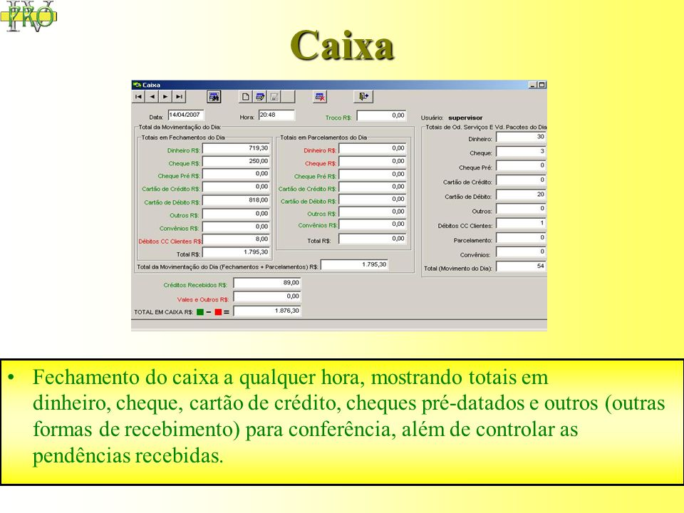 Mala Direta Possibilita a impressão de etiquetas para correspondência para Clientes. Possui filtros para selecionar os vários tipos de clientes.