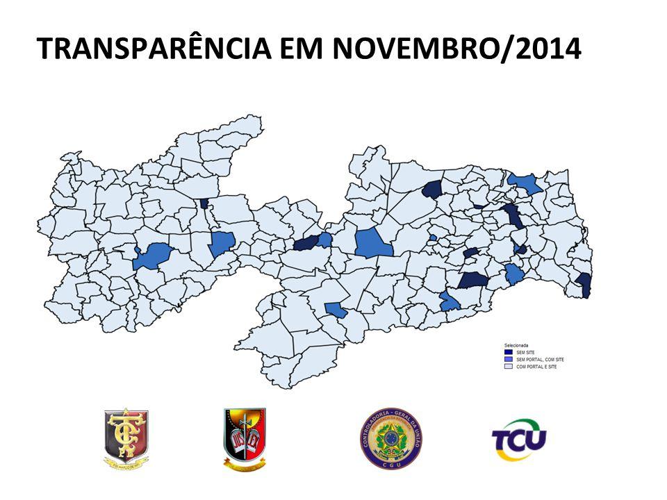 TRANSPARÊNCIA EM NOVEMBRO/2014