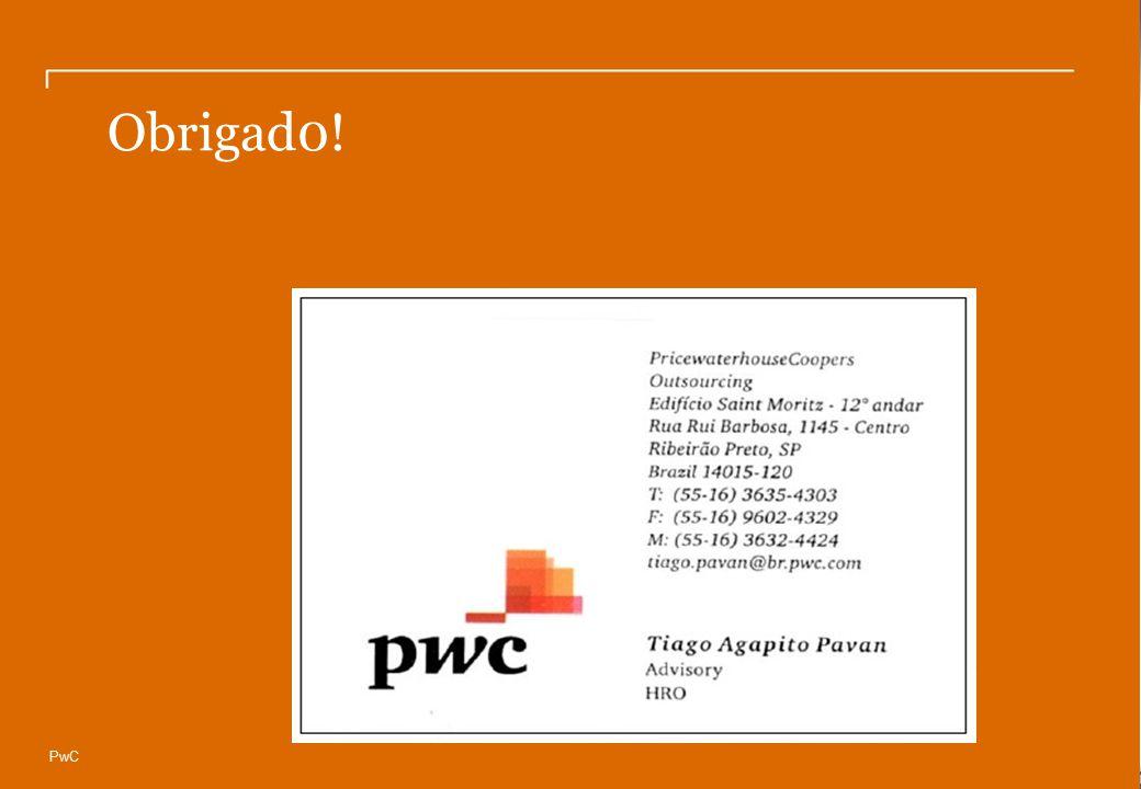 © Compliance Todos os direitos reservados 21 Obrigad0! PwC