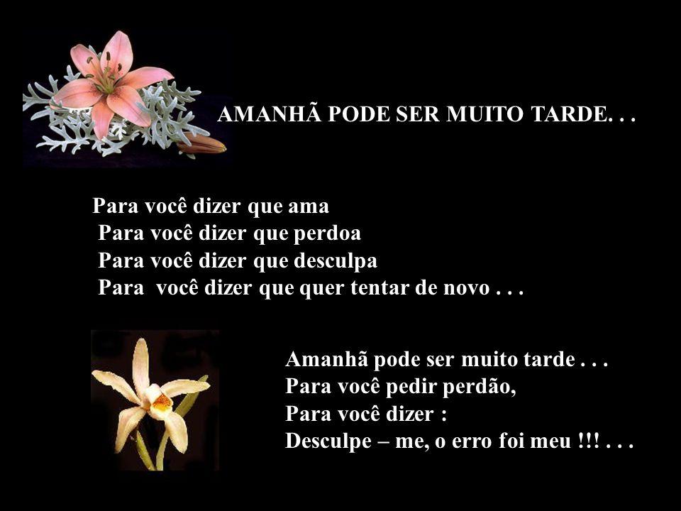 AMANHÃ