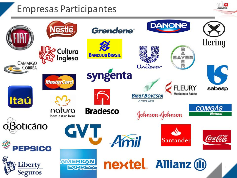 Empresas Participantes