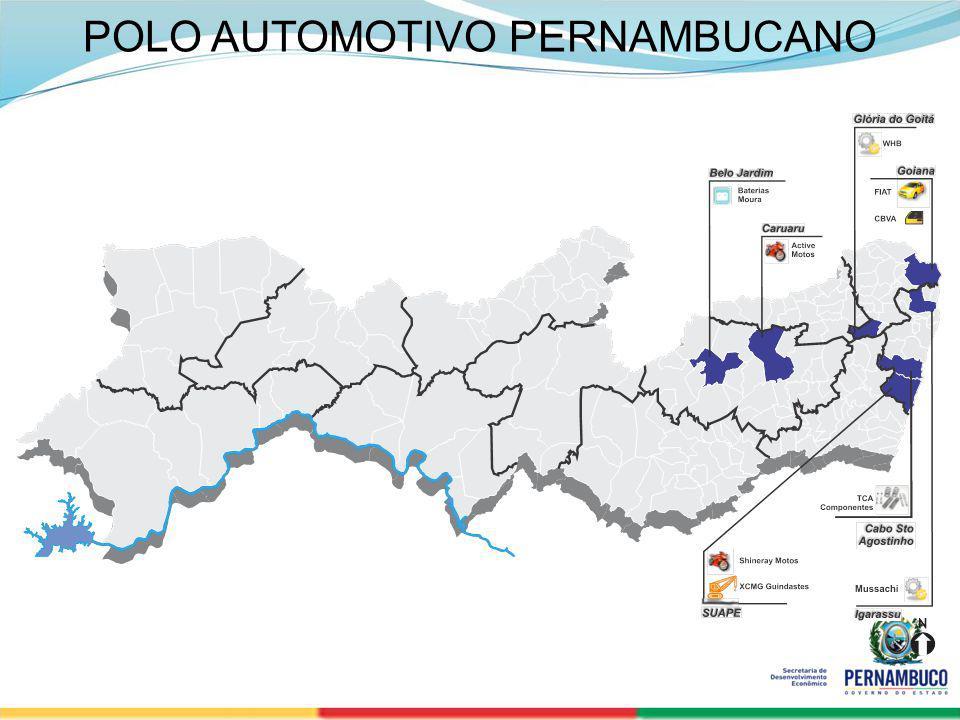 SECRETERIA DE DESENVOLVIMENTO ECONÔMICO 17 POLO AUTOMOTIVO PERNAMBUCANO