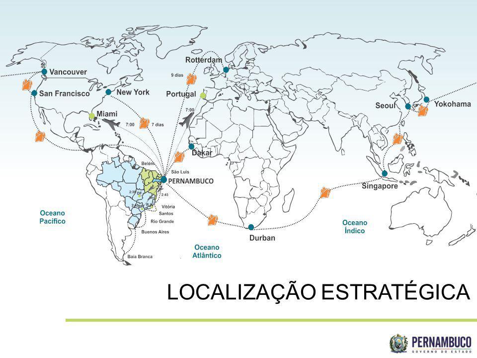 SECRETERIA DE DESENVOLVIMENTO ECONÔMICO LOCALIZAÇÃO ESTRATÉGICA