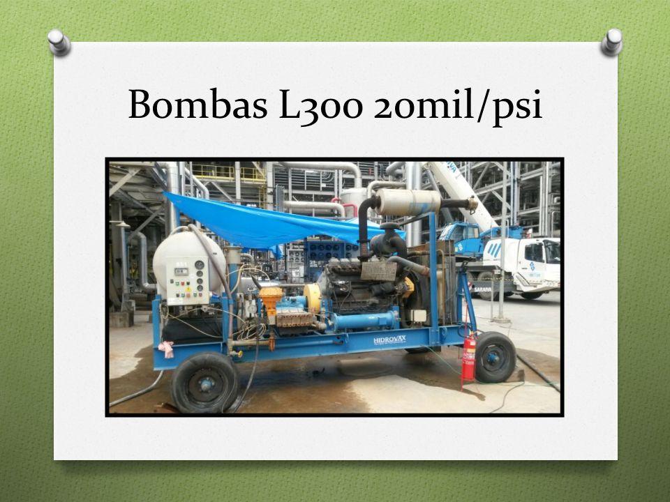 Bombas L300 20mil/psi
