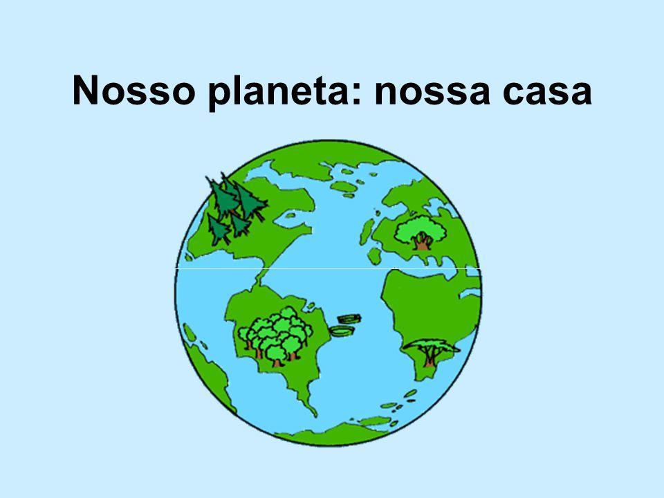 Nosso planeta: nossa casa