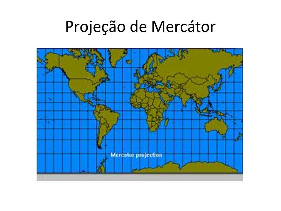 Além disso, nessa projeção, o centro do mundo é a Europa, foi a partir de então que surgiu o Europocentrismo ou Eurocentrismo.