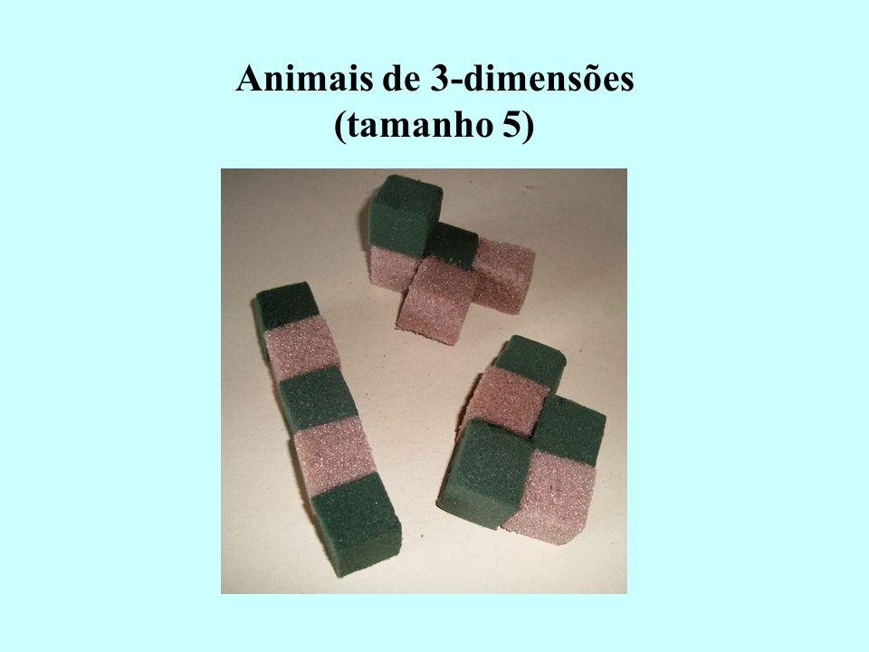 Animais de 3-dimensões (tamanho 5)