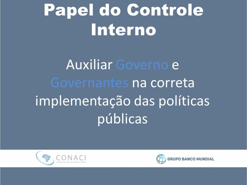 Papel do Controle Interno Auxiliar Governo e Governantes na correta implementação das políticas públicas
