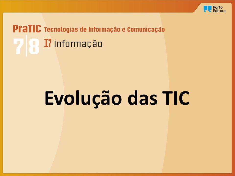 Evolução das TIC