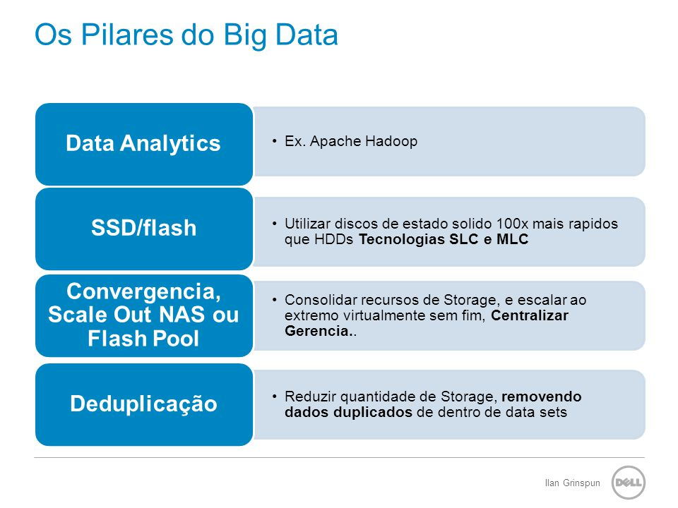 Ilan Grinspun Os Pilares do Big Data