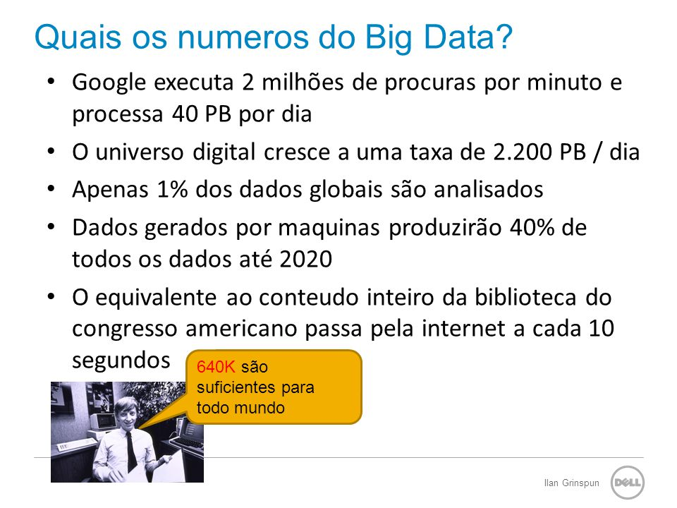 Storage Marketing 7 A Dimensão do Big Data.