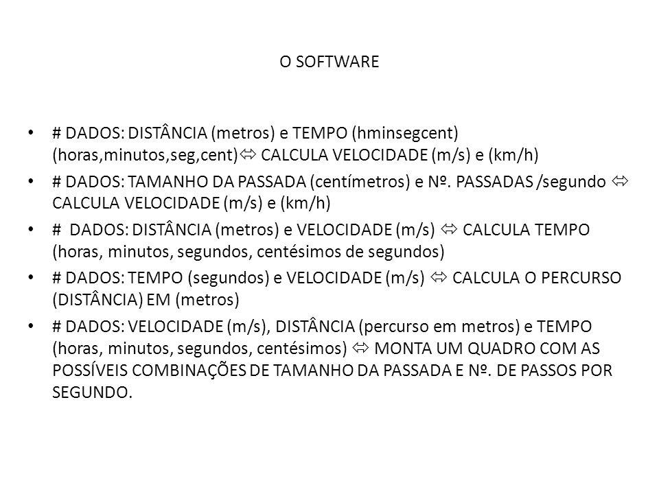 CALCULANDO ENERGIA, POTÊNCIA E KCAL DISSIPADAS # PARA O CÁLCULO DA ENERGIA EM JOULES NECESSITAMOS:  DO PERCURSO EM METROS, VELOCIDADE EM M/S E MASSA CORPORAL  PREENCHIDOS OS RESPECTIVOS BOX, CLICAR SOBRE O BOTÃO ENERGIA #O CÁLCULO DA POTÊNCIA EM CAVALOS VAPOR (CV) DEPENDE DE SE CONHECER A ENERGIA EM JOULES # O CÁLCULO DO NÚMERO DE KCAL (VULGARMENTE CHAMADO DE CALORIAS) DEPENDERÁ DO CÁLCULO ANTERIOR DA ENERGIA EM JOULES.