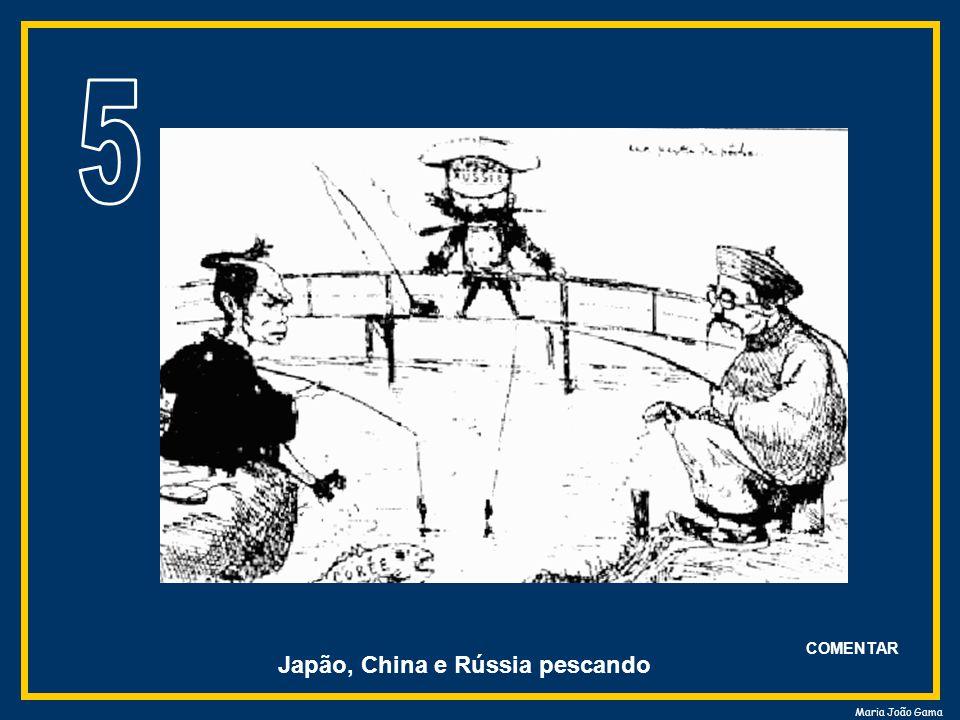 Maria João Gama Japão, China e Rússia pescando COMENTAR