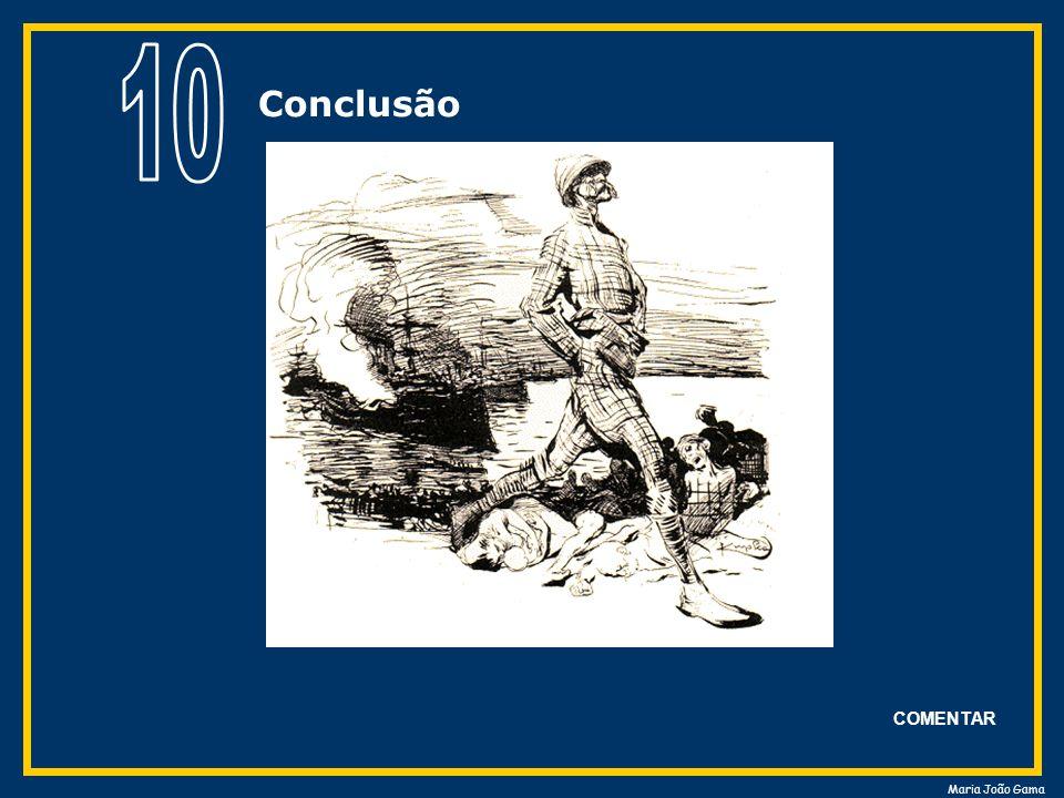 Maria João Gama COMENTAR Conclusão