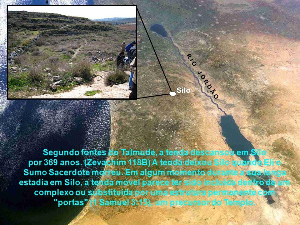 Após Israel conquistar e se instalar na terra de Canaã, Josué mandou que a tenda da congregação fosse montada definitivamente na cidade de Silo, que f